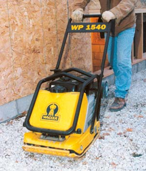 compactors hydraulic rammer vibratory plate compactor