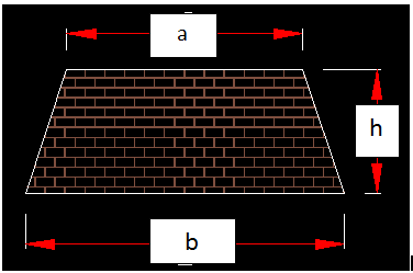 Centroid of trapezium description