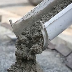 Composition of cement concrete