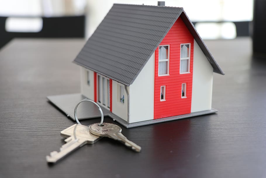 house-key-real-estate-security-apartment-building